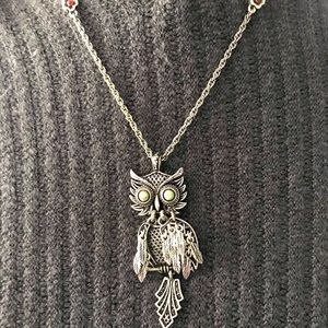 Lucky Brand Owl necklace